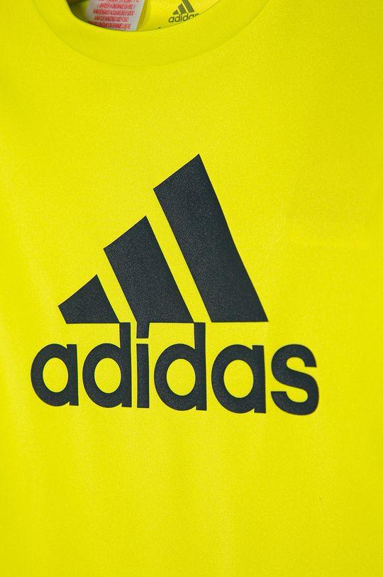 adidas - Dětské tričko 104-176 cm žlutě zelená