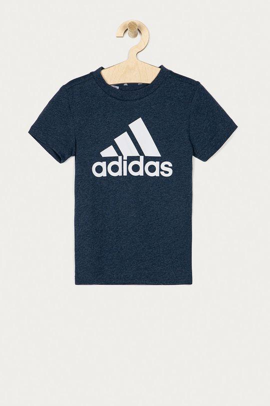 tmavomodrá adidas - Detské tričko 104-176 cm Chlapčenský