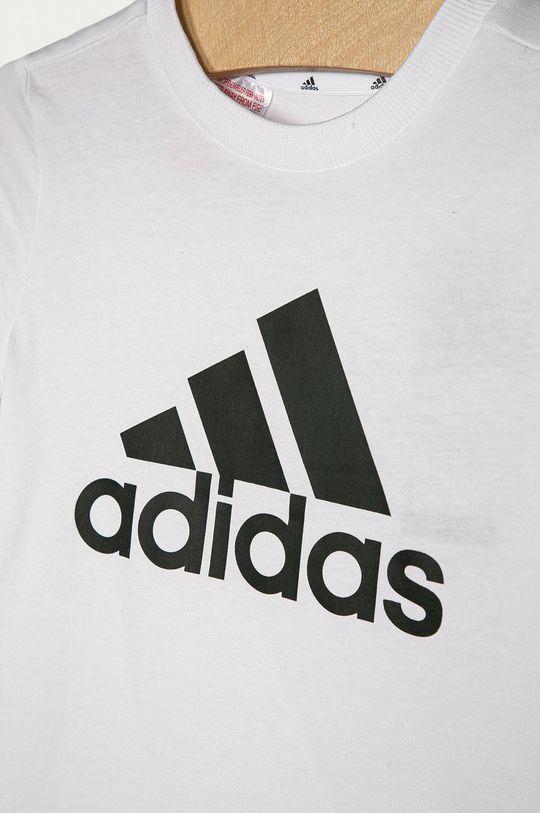 adidas - Dětské tričko 104-176 cm bílá