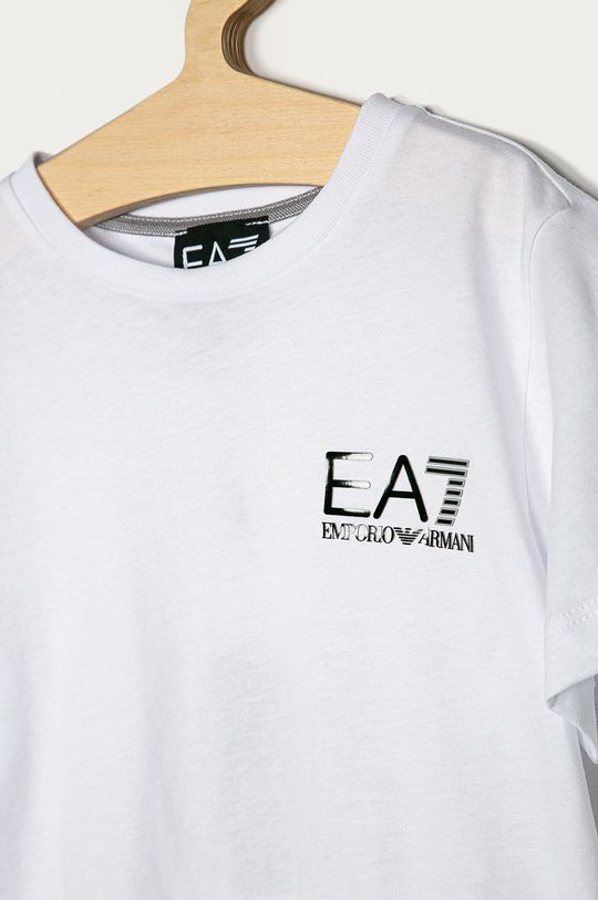 EA7 Emporio Armani - Tricou copii 104-164 cm alb