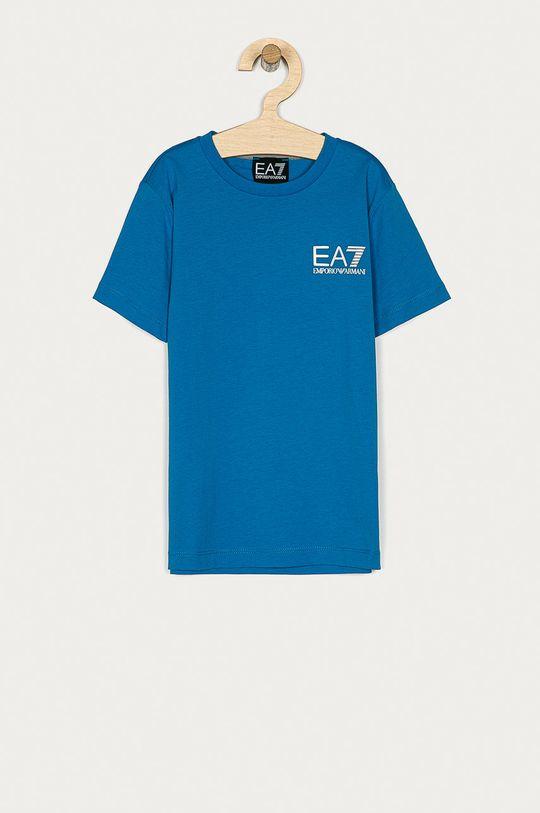 albastru EA7 Emporio Armani - Tricou copii 104-164 cm De băieți