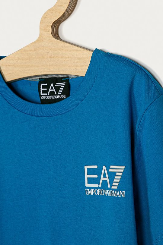 EA7 Emporio Armani - Tricou copii 104-164 cm albastru