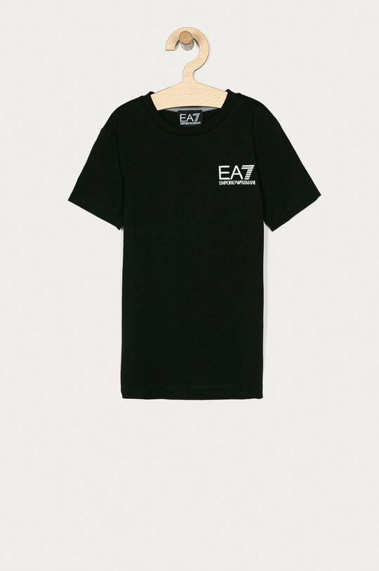 čierna EA7 Emporio Armani - Detské tričko 104-164 cm Chlapčenský