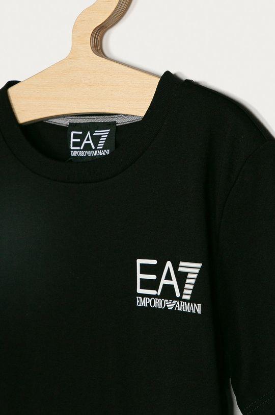 EA7 Emporio Armani - Detské tričko 104-164 cm čierna