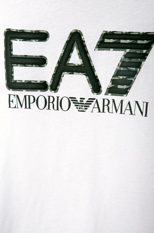 EA7 Emporio Armani - Tricou copii 104-152 cm alb
