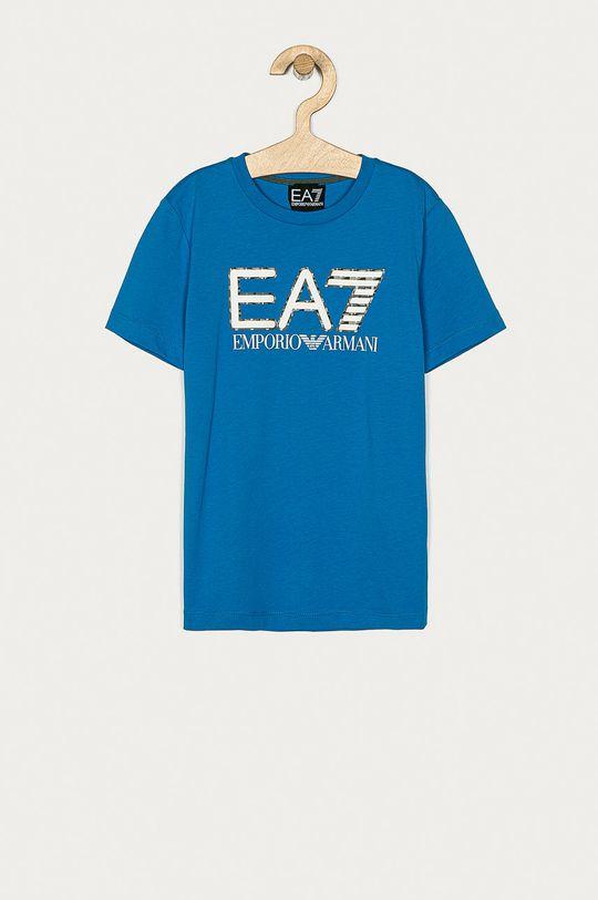 albastru EA7 Emporio Armani - Tricou copii 104-152 cm De băieți