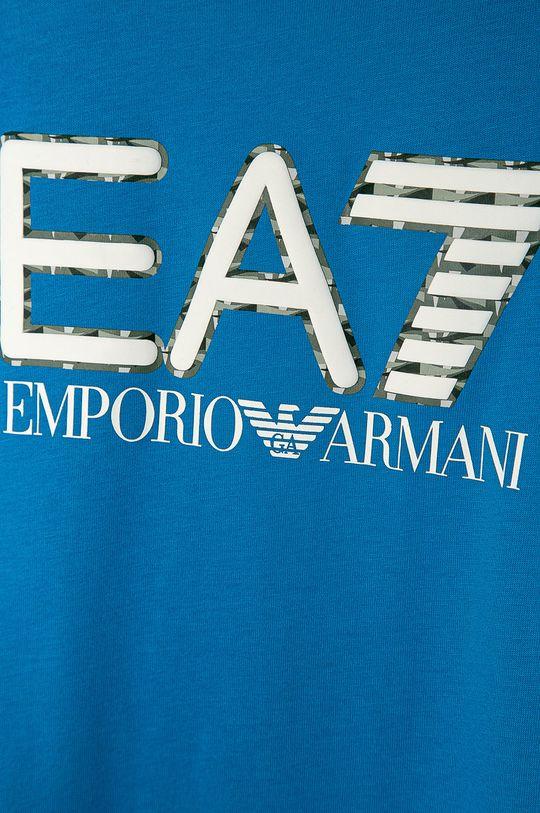 EA7 Emporio Armani - Tricou copii 104-152 cm albastru