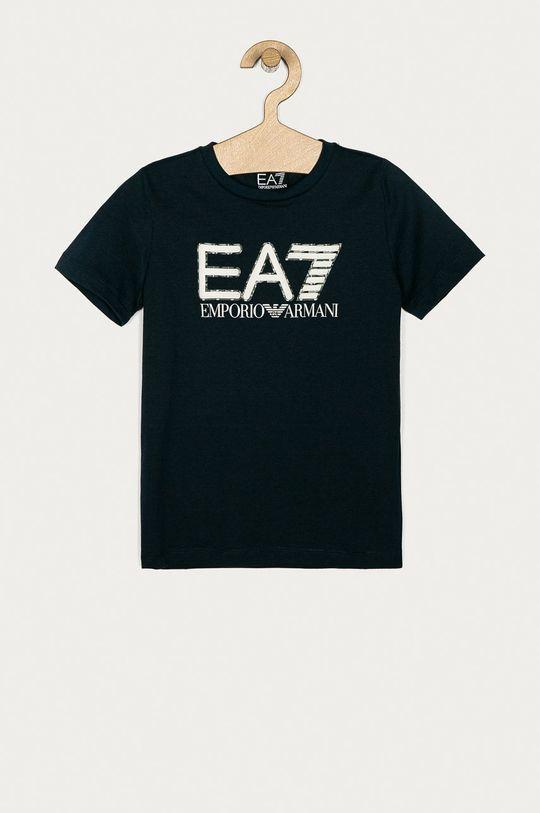 tmavomodrá EA7 Emporio Armani - Detské tričko 104-152 cm Chlapčenský