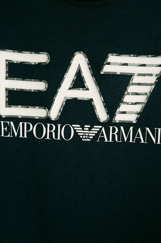 EA7 Emporio Armani - Detské tričko 104-152 cm tmavomodrá