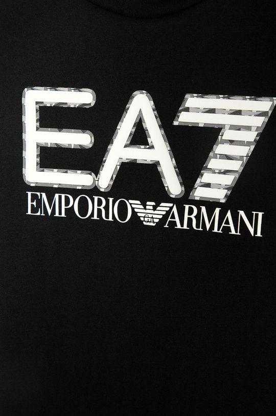 EA7 Emporio Armani - Detské tričko 104-152 cm čierna