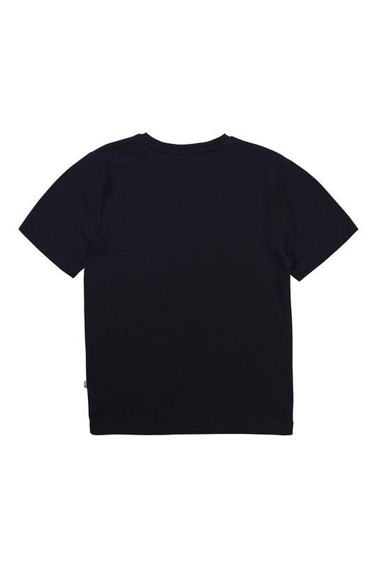 Boss - T-shirt dziecięcy granatowy
