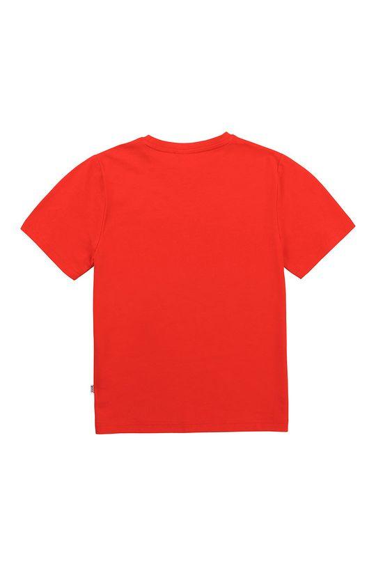 Boss - T-shirt dziecięcy czerwony