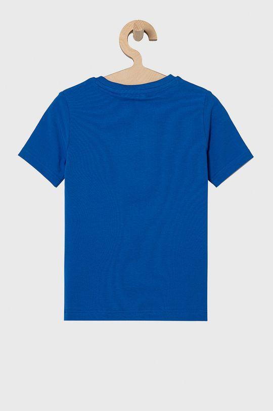 Boss - T-shirt dziecięcy niebieski