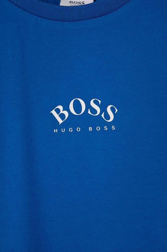 Boss - T-shirt dziecięcy 96 % Bawełna, 4 % Elastan