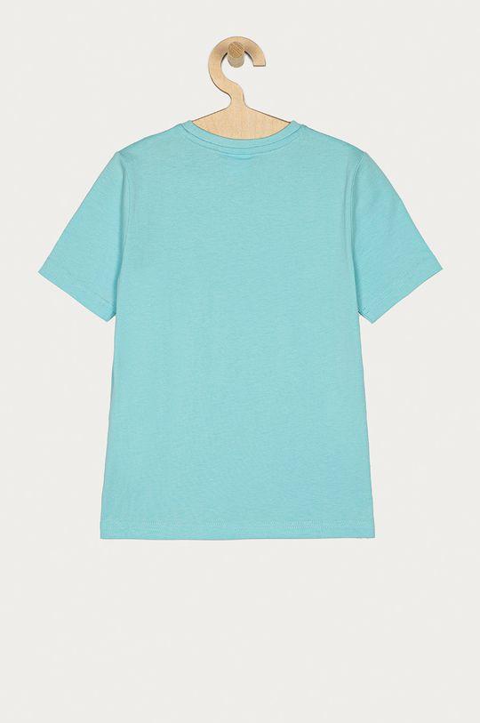 Boss - T-shirt dziecięcy jasny niebieski