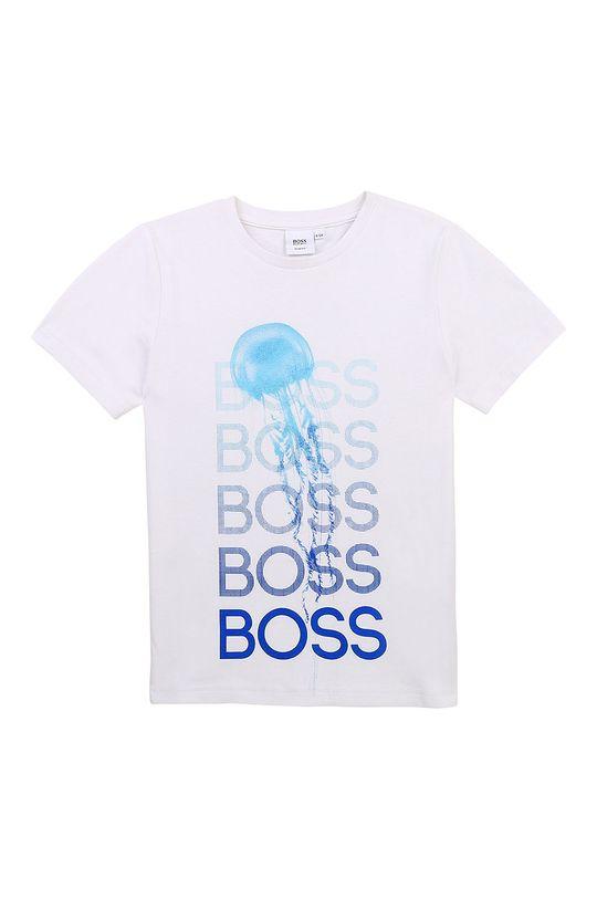 modrá Boss - Dětské tričko Chlapecký