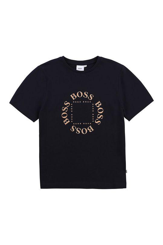 námořnická modř Boss - Dětské tričko Chlapecký