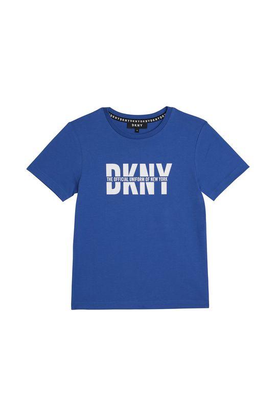 fioletowy Dkny - T-shirt dziecięcy 102-108 cm Chłopięcy