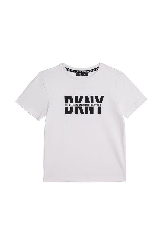 Dkny - T-shirt dziecięcy 162-174 cm biały