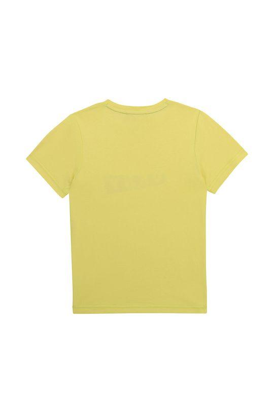 Dkny - Tricou copii galben deschis
