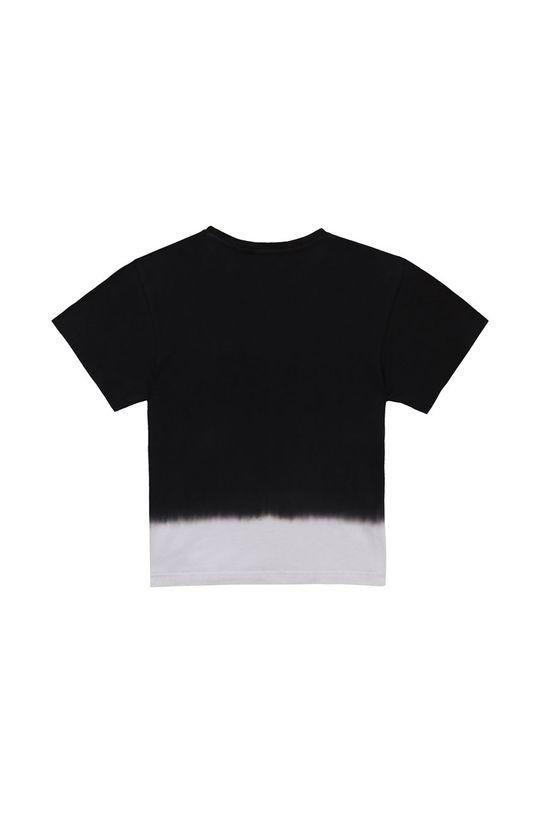 Dkny - T-shirt dziecięcy czarny