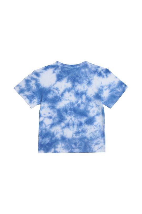 Dkny - T-shirt dziecięcy niebieski
