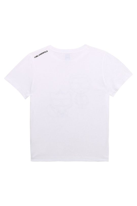 Karl Lagerfeld - Dětské tričko bílá