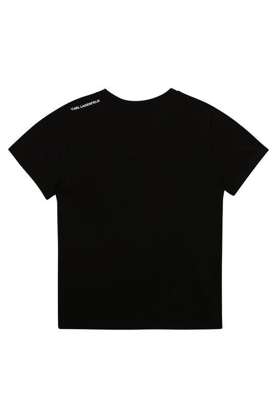 Karl Lagerfeld - Dětské tričko černá