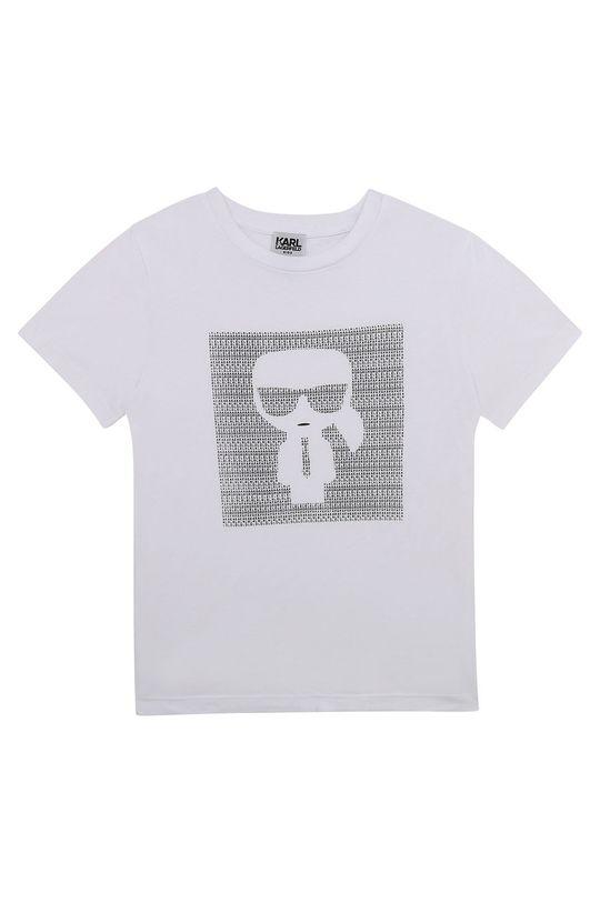 bílá Karl Lagerfeld - Dětské tričko Chlapecký