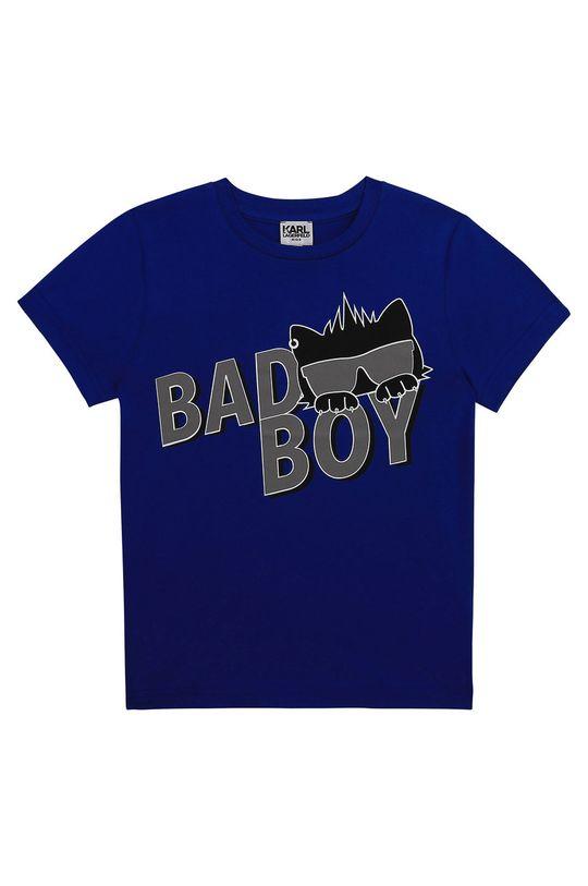 modrá Karl Lagerfeld - Dětské tričko Chlapecký