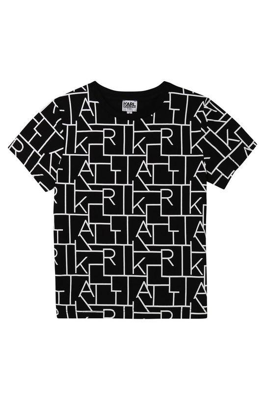 černá Karl Lagerfeld - Dětské tričko Chlapecký