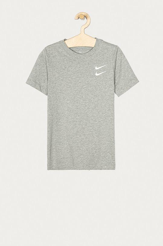 světle šedá Nike Kids - Dětské tričko 122-170 cm Chlapecký