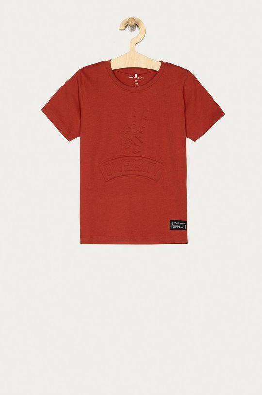 czerwony Name it - T-shirt dziecięcy 116-158 cm Chłopięcy