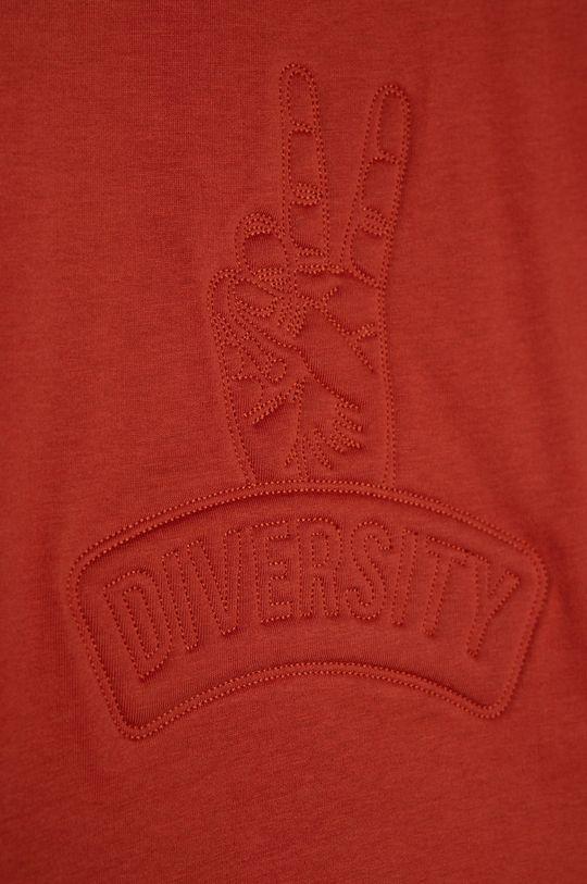 Name it - T-shirt dziecięcy 116-158 cm czerwony