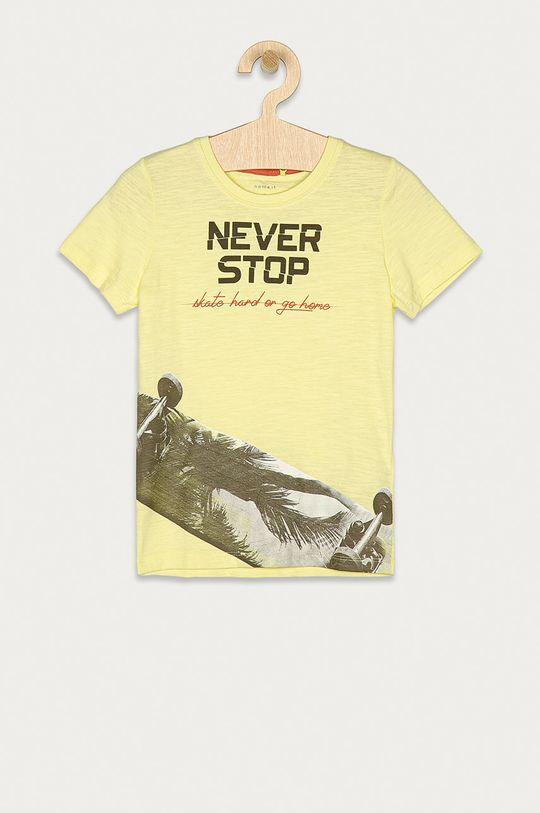 jasně žlutá Name it - Dětské tričko 116-152 cm Chlapecký
