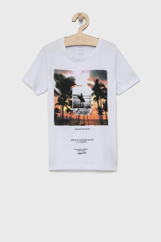 biały Name it - T-shirt dziecięcy Chłopięcy