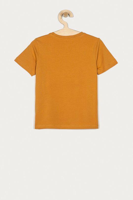 Name it - T-shirt dziecięcy 116-152 cm ciepły oliwkowy