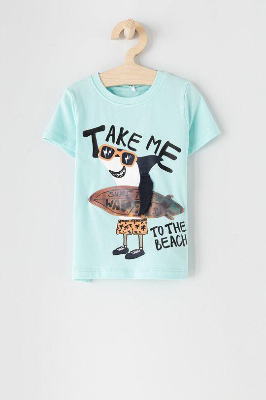 jasny niebieski Name it - T-shirt 86-110 cm Chłopięcy