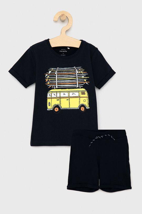 granatowy Name it - T-shirt dziecięcy Chłopięcy
