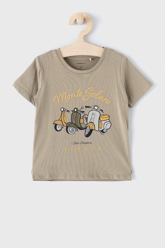 zielony Name it - T-shirt dziecięcy 86-110 cm Chłopięcy