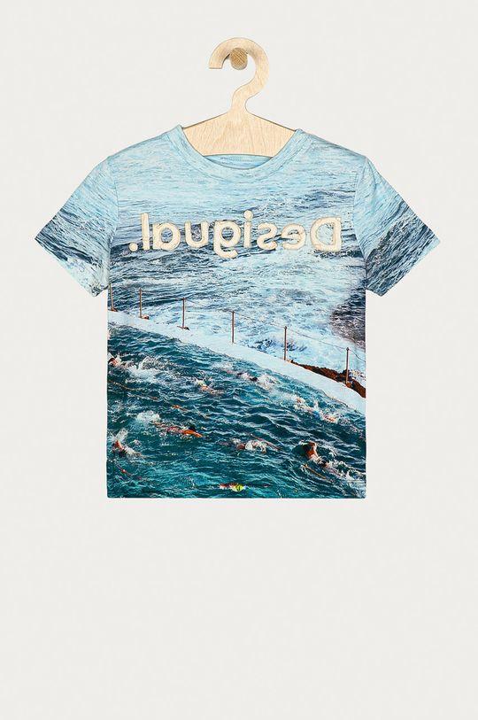 niebieski Desigual - T-shirt dziecięcy 104-164 cm Chłopięcy