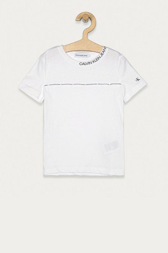 biela Calvin Klein Jeans - Detské tričko 104-176 cm Chlapčenský