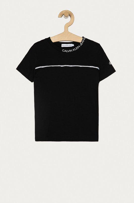 černá Calvin Klein Jeans - Dětské tričko 104-176 cm Chlapecký