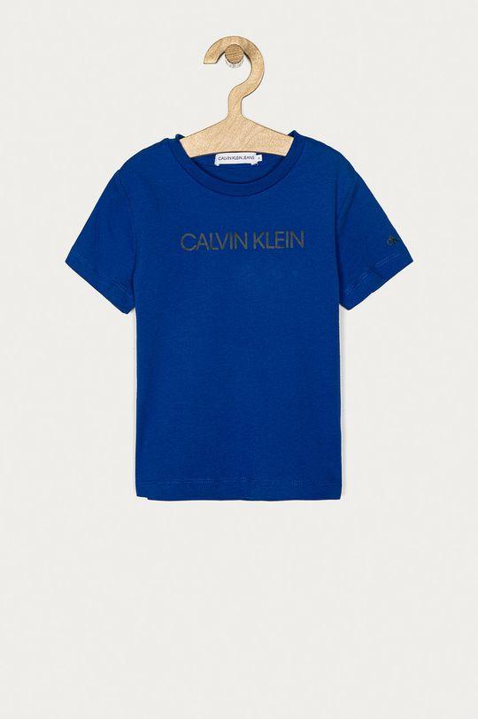 modrá Calvin Klein Jeans - Detské tričko 104-176 cm Chlapčenský