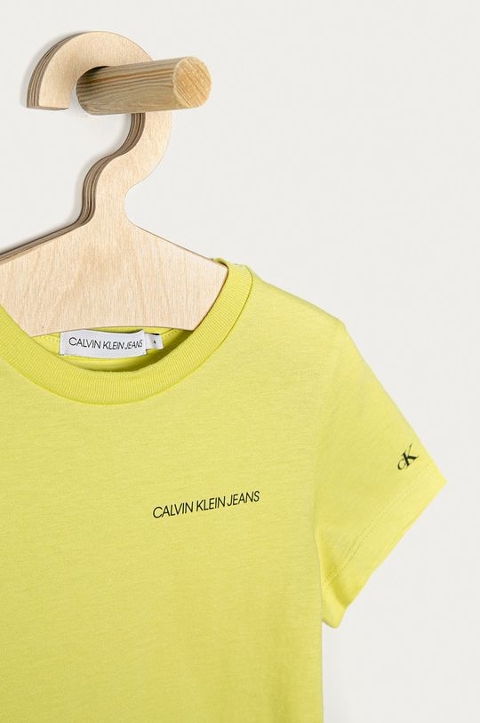Calvin Klein Jeans - Dětské tričko  100% Organická bavlna