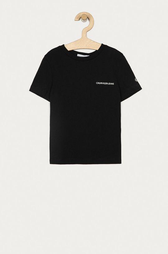 černá Calvin Klein Jeans - Dětské tričko Chlapecký