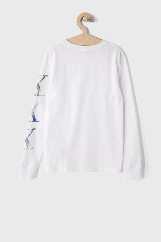 Calvin Klein Jeans - Longsleeve dziecięcy 140-176 cm biały