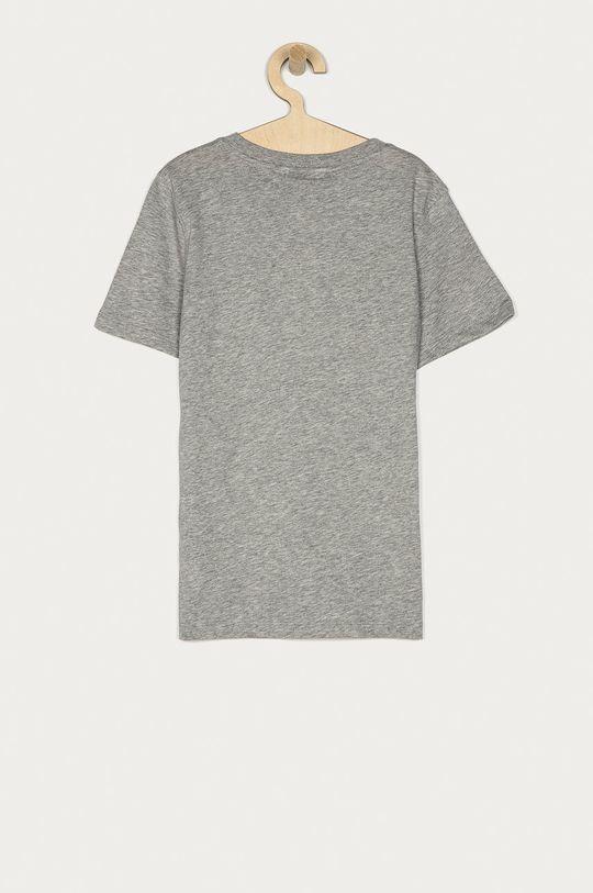 Calvin Klein - T-shirt dziecięcy 128-176 cm jasny szary