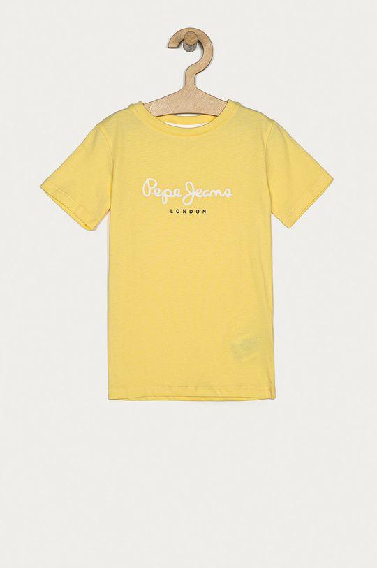 žlutá Pepe Jeans - Dětské tričko Art 104-178 cm Chlapecký
