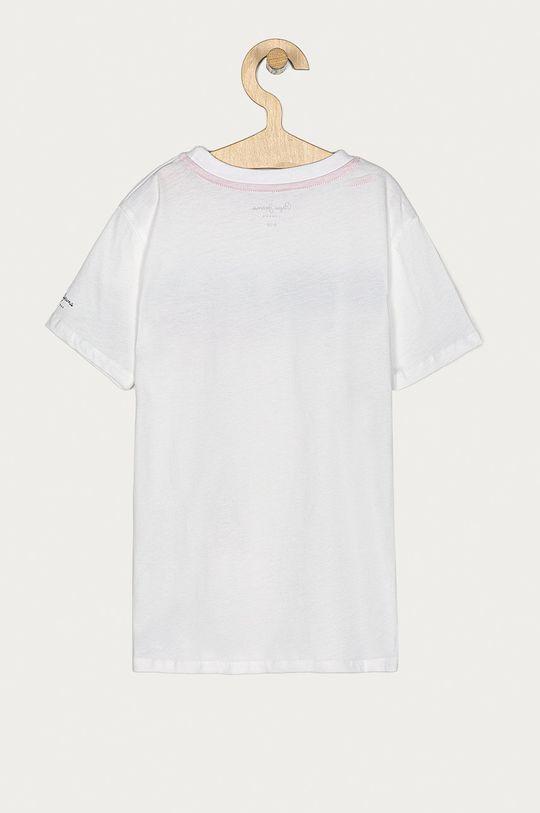 Pepe Jeans - Detské tričko Gabriel 128-178 cm biela
